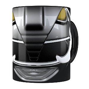 Caneca Ranger Black 3D Print Power Rangers Preta