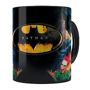 Caneca Batman Forever 3D Print Retrô Preta