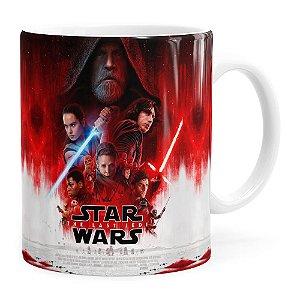 Caneca Star Wars The Last Jedi 3D Print Branca