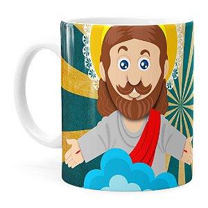 Caneca Páscoa Verdadeiro Significado é Jesus v01 Branca