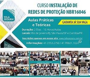 Curso Presencial De Instalação de Redes de Proteção para Edifiações NBR16046-3
