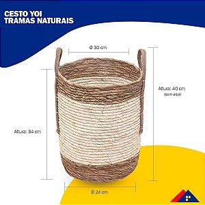 CESTO TRAMAS NATURAIS AMALFI SAND