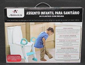 ASSENTO INFANTIL PARA SANITÁRIO COM ESCADA