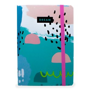 CADERNO DREAM AZUL PASTEL - WORLD CLASSIC