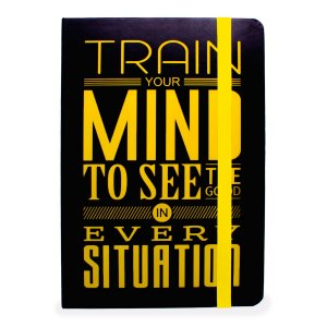 CADERNO TRAIN YOUR MIND - WORLD CLASSIC