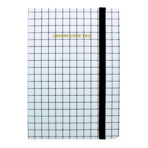 CADERNO DREAMS COME TRUE BRANCO