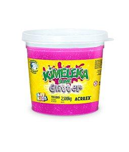 BALDE SLIME KIMELEKA GLITTER ROSA 2,5KG ACRILEX