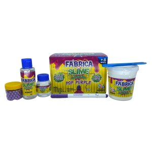 FÁBRICA DE SLIME KIMELEKA POP PURPLE