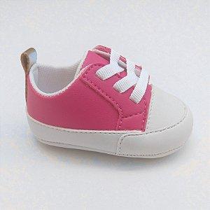 42cadf0ee Tênis Baby Cadarço Pink