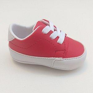9c875f470 Tênis Baby Cadarço Vermelho