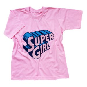 Camiseta Super Girl - Humanos - Baby Look
