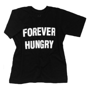 Camiseta Forever Hungry - Humanos - Baby Look