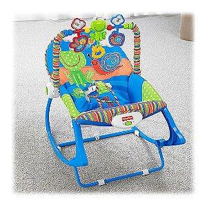 Cadeira Balanço Minha Infância Sapinho - Fisher Price