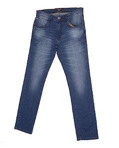 Calça Jeans Masculina Com Bordado