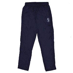 Calça Preta Básica Em Tecido Especial / Aspen