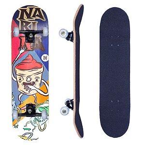 Skate Infantil Narina Iniciante Street Completo 7.75 Cupcake