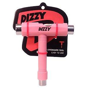 Chave Skate Rosa Dizzy Wheels Manutenção T Multifuncional
