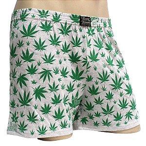 Cueca Samba Canção Cannabis Cinza Mescla Ray Brown