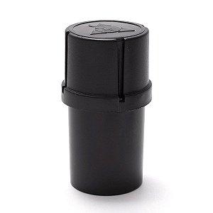Dichavador Pot Grinder 3 partes Squadafum Triturador Preto