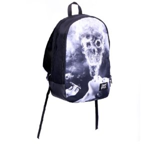 Mochila Chronic 420 Original Cannabis Smoke Skull
