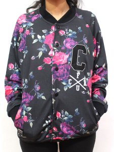 Blusa de Moletom Feminino Chronic 420 Skull Floral Colegial