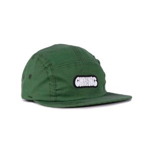 Boné Chronic 5panel Strapback Graffiti Bomb Verde
