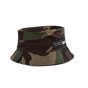Chapéu Bucket Hat Chronic Camuflado Ninguém Guenta Pescador