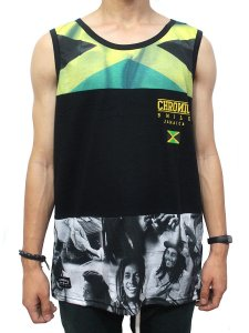 Camiseta Regata Chronic Bob Marley Jamaica
