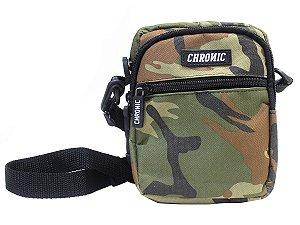 Shoulder Bag Chronic 420 Bolsa Camuflada Pochete Transversal