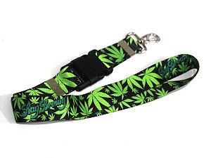 Chaveiro Cannabis Cordão Maconha Ray Brown