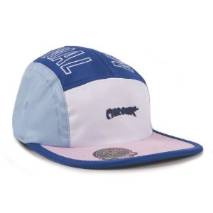 Boné Chronic 420 Five Panel 5Panel Azul e Cinza