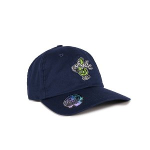 Boné Chronic 420 Dad Hat Azul Marinho Bong Bordado Original