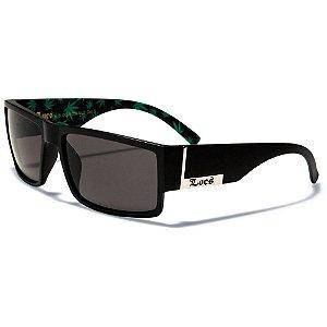 Óculos Sol Masculino Locs Lowrider Mary Jane Polarizado UV400 Importado