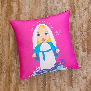 Almofada Coleção Nossa Senhora das Graças Magenta