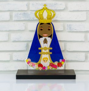 Imagem Nossa Senhora Aparecida em acrílico