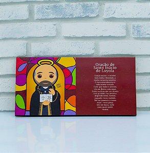 Quadro Santo Inácio de Loyola Jesuita