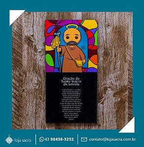 Quadro Santo Inácio de Loyola Peregrino V