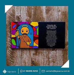 Quadro Santo Inácio de Loyola Peregrino H