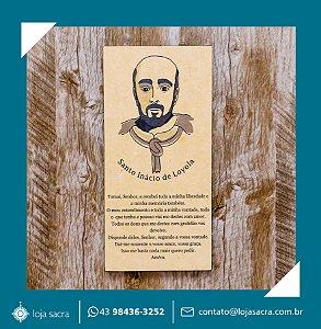 Quadro Santo Inácio de Loyola Imagem Clássica