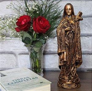 Imagem Santa Terezinha do Menino Jesus Acobreada