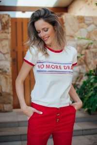 T-shirt no more drama
