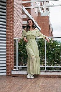 Vestido longo Lívia
