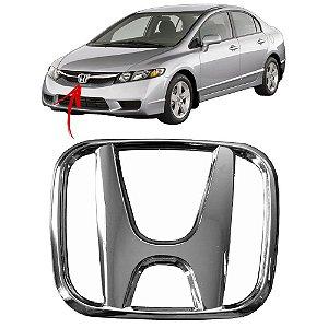 Emblema Da Grade Dianteira Honda Civic 2007 a 2011