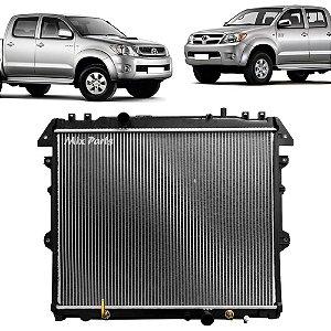 Radiador de Água do Motor Hilux Diesel 2005 a 2011