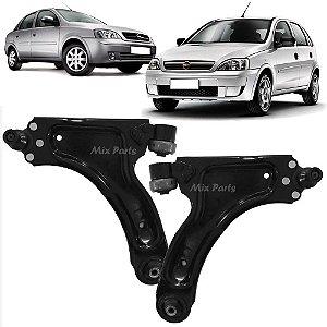 Bandeja Dianteira Chevrolet Corsa / Montana 2003 a 2012 Balança com Pivô e Bucha