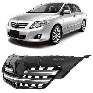 Grade Dianteira Cromada Toyota Corolla 2009 a 2010