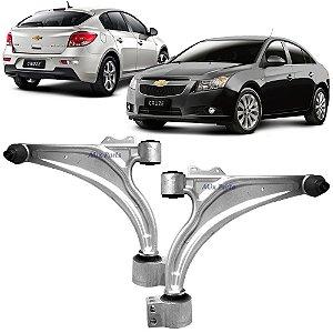 Bandeja Dianteira Chevrolet Cruze 2011 a 2015 Balança com Pivô e Bucha