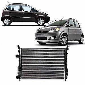 Radiador de Água do Motor Palio 2001 a 2011 e Idea 2006 a 2012