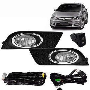 Kit De Farol De Milha Honda Civic 2012 a 2014