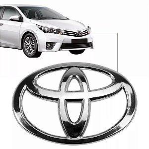 Emblema Da Grade Toyota Corolla 2014 a 2017